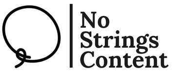 No Strings Content Logo - Content Writing Consultancy